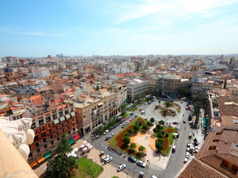 View of Valencia