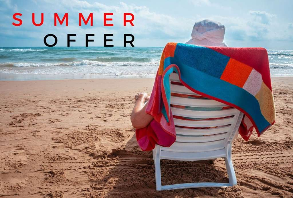 summer offer for the website